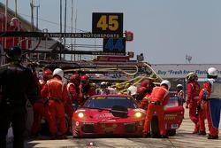 Pitstop #62 Risi Competizione Ferrari F430 GT: Jaime Melo, Gianmaria Bruni, Pierre Kaffer