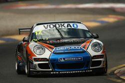 #17 INCA Motorsports, Porsche GT3 997 Cup Car: Raymond Angus