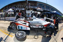 Pitstop #6 Team Cytosport Porsche RS Spyder: Greg Pickett, Klaus Graf, Sascha Maassen