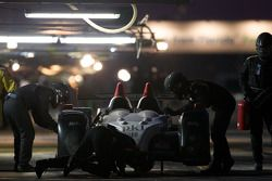 #89 Intersport Racing Oreca FLM09: Mitch Pagerey, Brian Wong, David Ducote in de pitstraattraat