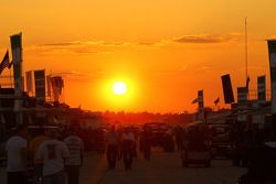 Zonsondergang Sebring