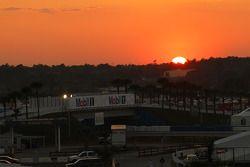Sunset at Sebring