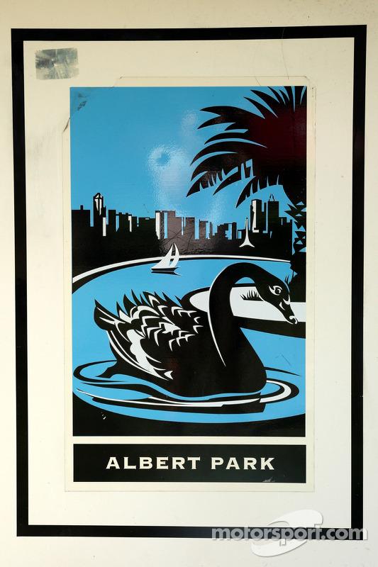 Logo de l'Albert Park