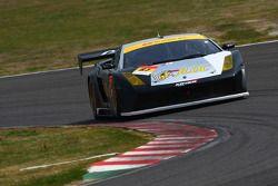 #87 Jloc Lamborghini RG-3: Hiroyuki Iiri, Yuya Sakamoto