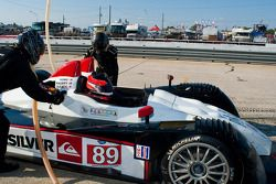 Pitstop #89 Intersport Racing Oreca FLM09: Mitch Pagerey, Brian Wong, David Ducote
