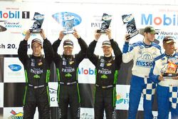 GTC podium: tweede plaats Bill Sweedler, Romeo Kapudija en Jan-Dirk Lueders