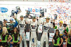 P2 podium: class winners Greg Pickett, Klaus Graf and Sascha Maassen