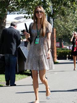 Jessica Michibata petite amie de Jenson Button