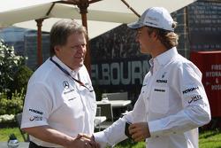Norbert Haug, Mercedes, Chef du Sport automobile, Nico Rosberg, Mercedes GP