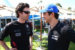 Marc Hynes avec Bruno Senna, Hispania Racing F1 Team