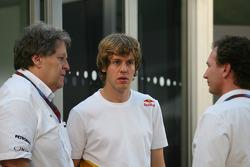 Norbert Haug, Mercedes, Chef du Sport automobile avec Sebastian Vettel, Red Bull Racing et Christian