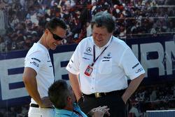 Michael Schumacher, Mercedes GP, Mick Doohan, Norbert Haug, Mercedes, Chef du Sport automobile