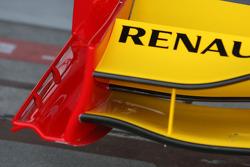 détail, aileron avant, Renault F1 Team