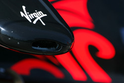 Virgin Racing aileron avant détail