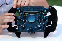Le volant de Pedro de la Rosa, BMW Sauber F1 Team