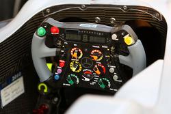 Le volant de Michael Schumacher, Mercedes GP