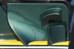 Lotus F1 Team aileron avant détail