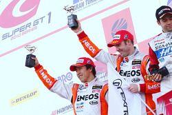 GT500 Podium : 2e #6 Eneos SC430: Daisuke Ito, Bjorn Wirdheim