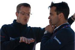 Sébastien Bourdais and Pedro Lamy