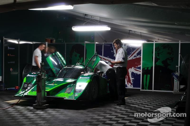 Drayson Racing: paddock