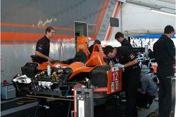 Autocon Motorsports paddock area