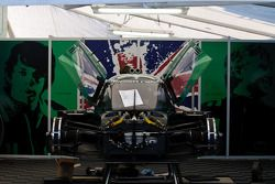 Drayson Racing paddock area