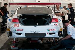 Rahal Letterman Racing at work in the paddock