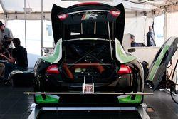 Jaguar RSR paddock area