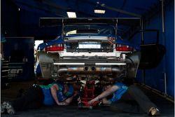 Team Falken Tire paddock
