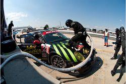 Pitstop #23 Alex Job Racing Porsche 911 GT3 Cup: Bill Sweedler, Romeo Kapudija, Jan-Dirk Lueders