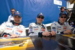 Pedro Lamy, Nicolas Minassian en Sébastien Bourdais