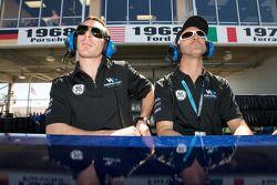 Simon Pagenaud and David Brabham