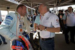 Stefan Mücke and David Richards