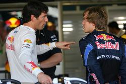 Mark Webber, Red Bull Racing avec Sebastian Vettel, Red Bull Racing