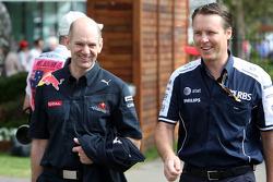 Adrian Newey, Red Bull Racing, Directeur des opérations techniques, Sam Michael, WilliamsF1 Team, Directeur technique