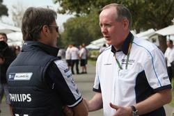 Adam Parr, Williams F1 Team, Mark Gallagher, Manager général de Cosworth Unité commerciale F1
