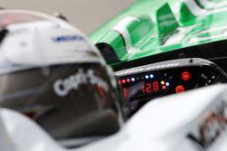 Руль на машине Адриана Сутиля, Force India F1 Team