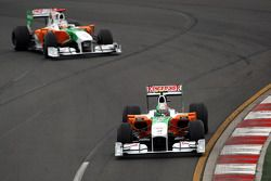 Витантонио Льюцци, Force India F1 Team и Адриан Сутиль, Force India F1 Team