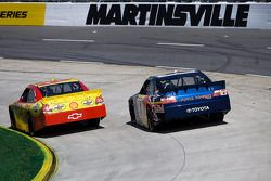 Kevin Harvick, Richard Childress Racing Chevrolet, Brian Vickers, Red Bull Racing Team Toyota