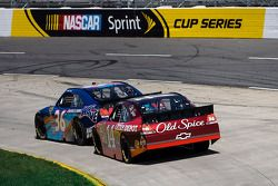 Mike Bliss, Tommy Baldwin Racing Chevrolet, Tony Stewart, Stewart-Haas Racing Chevrolet