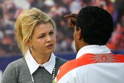 Corina Schumacher, Corinna, femme de Michael Schumacher et Balbir Singh