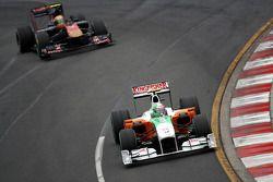 Vitantonio Liuzzi, Force India F1 Team Jaime Alguersuari, Scuderia Toro Rosso