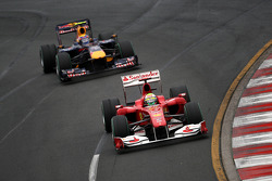 Felipe Massa, Scuderia Ferrari Mark Webber, Red Bull Racing