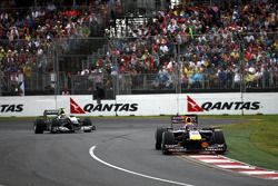 Mark Webber, Red Bull Racing, Nico Rosberg, Mercedes GP
