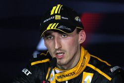 Post-race press conference: Robert Kubica, Renault F1 Team