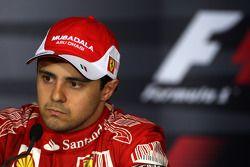 Post-race press conference: Felipe Massa, Scuderia Ferrari