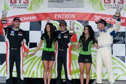 #24 NGT Motorsports: Carlos Eduardo, #26 NGT Motorsports: Henrique Cisneros, #82 Hawk Motorsports: L