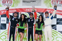 #24 NGT Motorsports: Carlos Eduardo, #26 NGT Motorsports: Henrique Cisneros, #82 Hawk Motorsports: Lloyd Hawkins