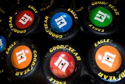 Wheels for Kyle Busch, Joe Gibbs Racing Toyota