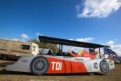 De Audi R15 'Plus' in Sebring